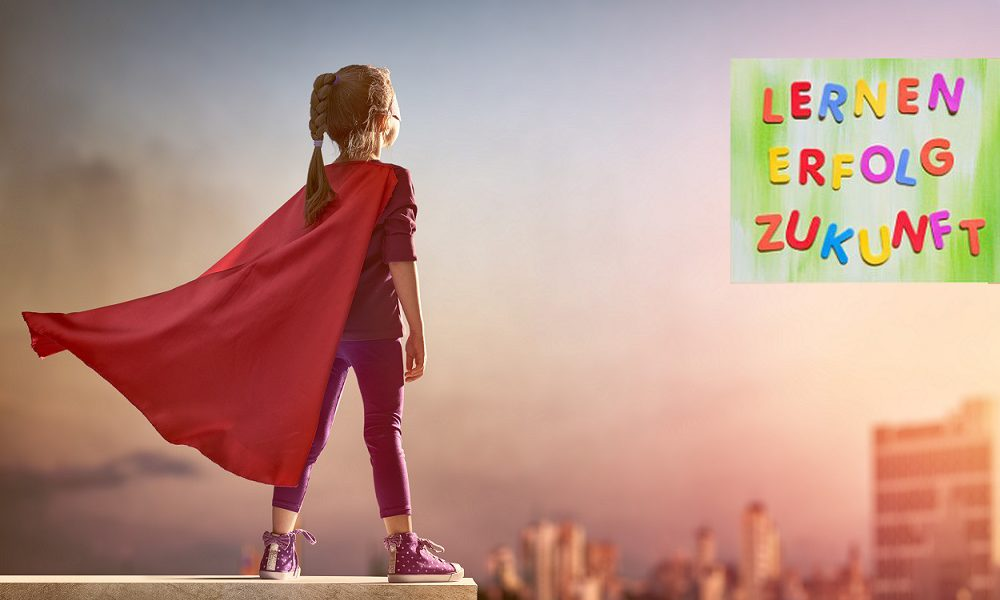 Little,Child,Girl,Plays,Superhero.,Child,On,The,Background,Of